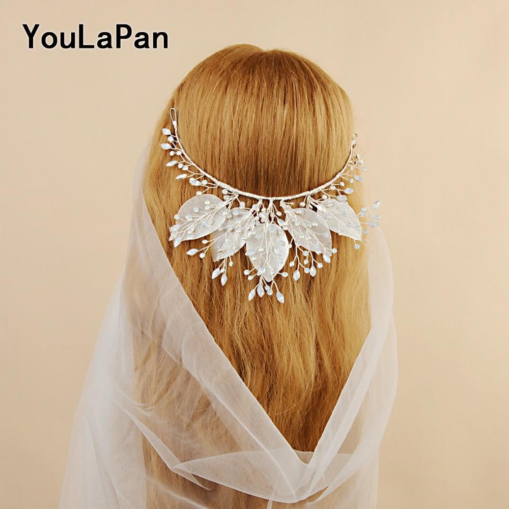 YouLaPan HP212 Wedding Tiara For Bride Bridal Crowns Headpiece With Rhinestone Wedding Hair Jewelry for Girls Rhinestone Crown