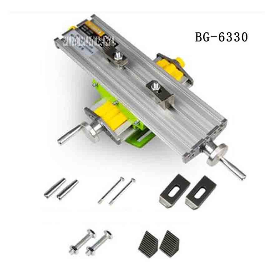 New BG 6330 Mini Cross Slide Table Micro Milling Machine High Quality Multifunctional Precision Cross Slide Workbench (330*95mm)|Boring Machine| |  - title=