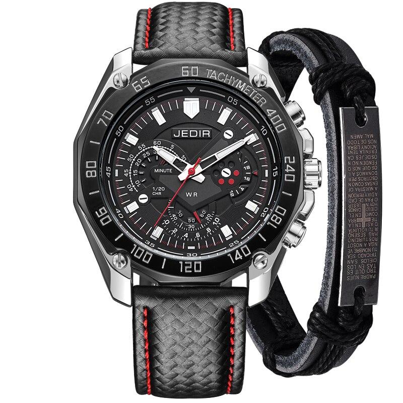 2018 pas cher Sport Marque Quartz Hommes Montres Top Marque De Luxe Quartz-montre Horloge Bracelet En Cuir Homme Montre-Bracelet Relogio Masculino