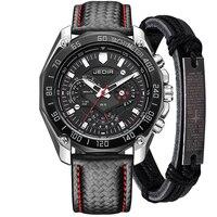 2018 Cheap Sports Brand Quartz Mens Watches Top Brand Luxury Quartz Watch Clock Leather Strap Male