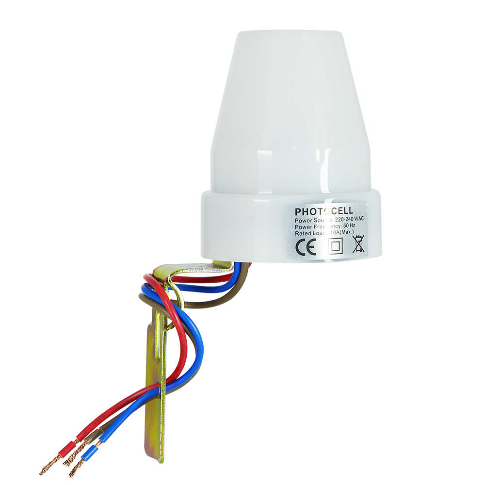 Photocell Switches On Triac