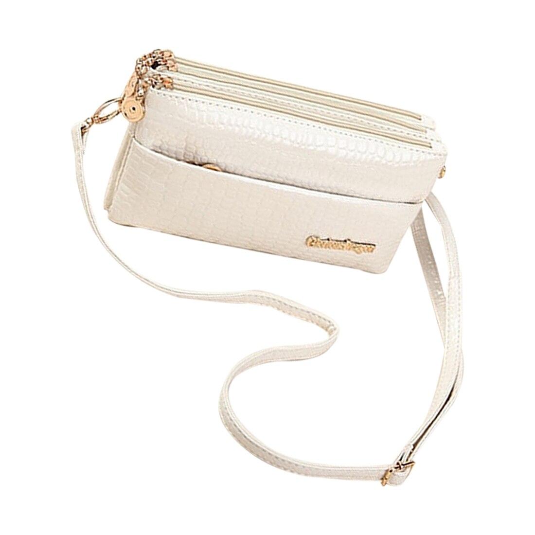 FGGS Caliente bolsos de Las Mujeres Pequeño Bolso de Cocodrilo Patrón de Mensaje