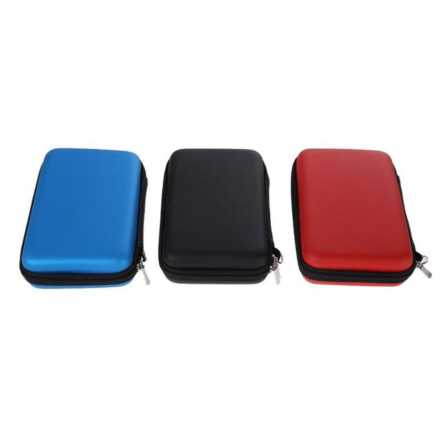 1pcs EVA Carrying Case Bag for New 3DS XL 3DS LL 3DS XL 3 Styles for Nintendo Pouch Hard Bags with Strap Blue Black Red