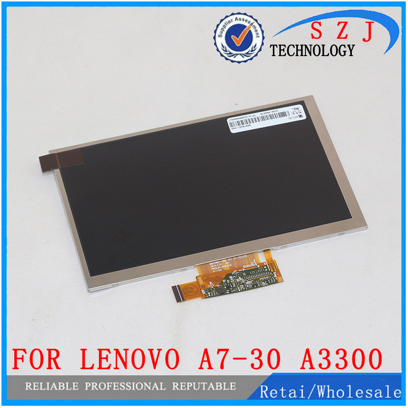 New 7'' inch for Lenovo A7-30 A3300 LCD Display LCD Screen Digitizer Sensor Replacement Free Shipping srjtek new 7 inch lcd display touch screen digitizer assembly replacements for lenovo tab 2 a7 10 a7 10f free shipping