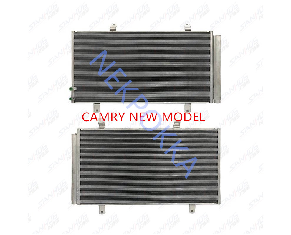 Automobile air conditioner condenser,Camry's new condenser, heat sink,Radiator plate for air conditioner condenser