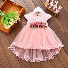 Kids Clothes Floral Girls Dress Summer 2019 Toddler Girl Clothing lol Party Princess Dress Baby Girls Boutique Outfits 0-3Year new brand girls summer dress floral girls clothes 2016 baby princess kids event party dress for newborn girl clothing