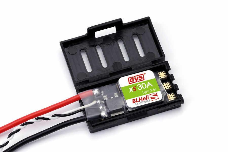 4 unids/lote Original DYS XS30A Blheli 30A controlador de velocidad electrónico ESC 3-6 S Oneshot42 para FPV Quadcopter