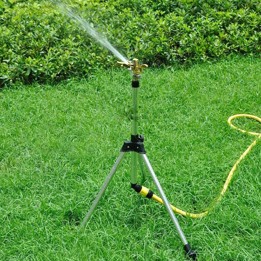 Image 3 - Zinc Alloy 360 Degree Rocker Rotating Nozzle Adjustable Angle Lawn Garden Nozzle Watering Sprinkler Lawn Irrigation Nozzle-in Garden Sprinklers from Home & Garden