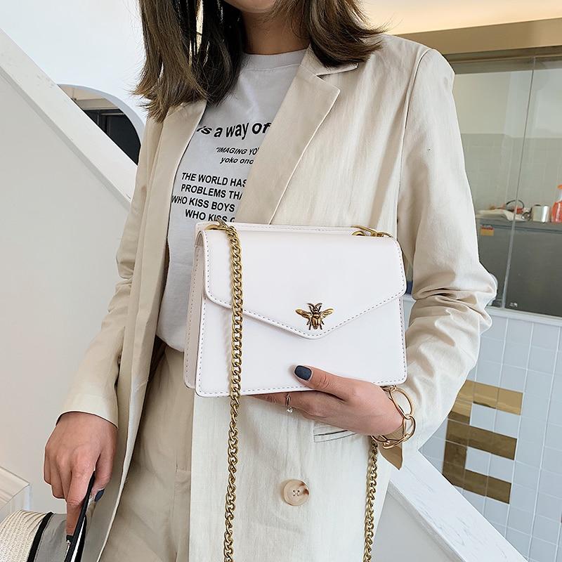 High Quality Fashion PU Chain Shoulder Bag Luxury Handbags Women Bags Designer Bolsa Feminina Bags For Women 2019 Sac A Main