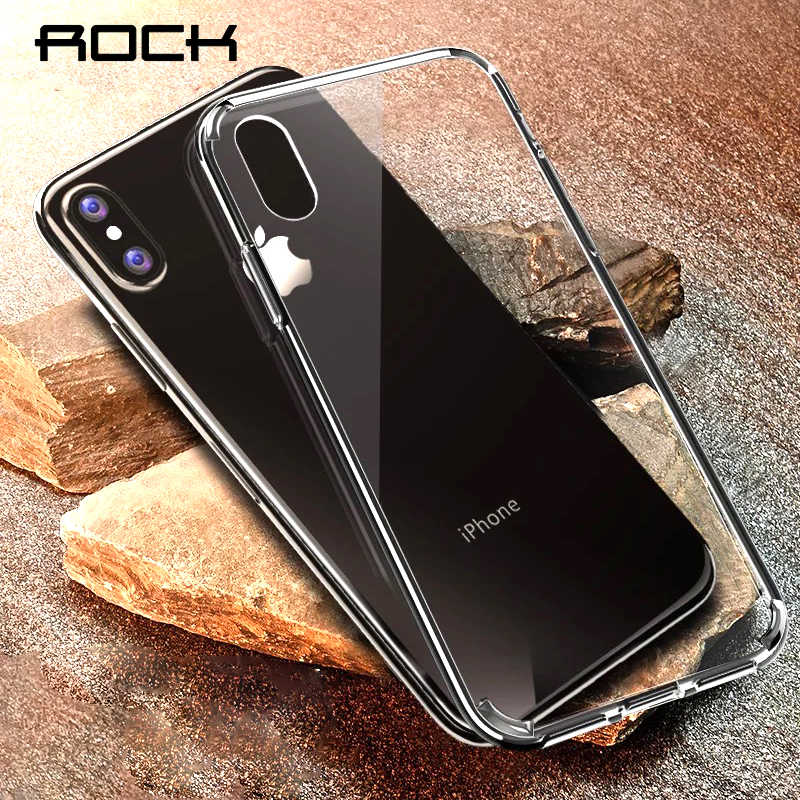 newest collection a6221 81275 Detail Feedback Questions about ROCK Anti Shock Case For iPhone XS X ...