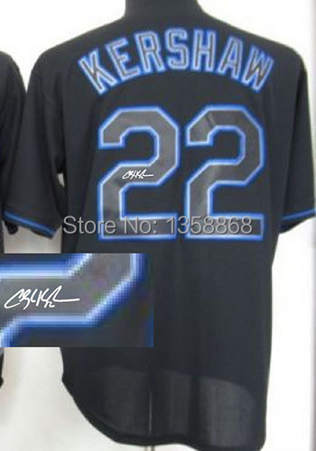 7a9a5190c3d Free Shipping 22 Clayton Kershaw jersey Embroidery and Sewing Logos  Baseball Clayton Kershaw jersey White