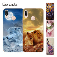For Phone Cases Huawei P20 lite Lite Cover Clear Slim Silicone Soft Printing Smartphone Coque p20