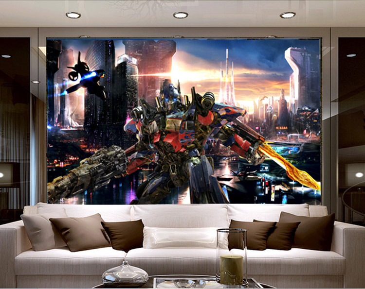 Transformers Bedroom Decor 40 Aliexpress Com Buy Transformers Optimus Prime  Wallpaper Movies Transformers Bedroom Decor.