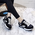 2016 Moda Flats Mulheres Formadores Respirável Sport1 Outdoor1 Andando Mulheres Apartamentos Mulher Sapatos Casuais Formadores Zapatillas Mujer