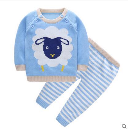 d12d519e28d13 Mode Printemps Automne Enfants filles pull bébé fille tricoté top pur coton  chandail survêtement vêtements