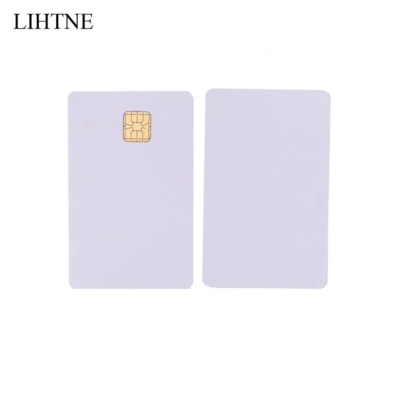 1PCS Smart IC Cards SLE 4428 Chip Blank PVC Contact IC Cards