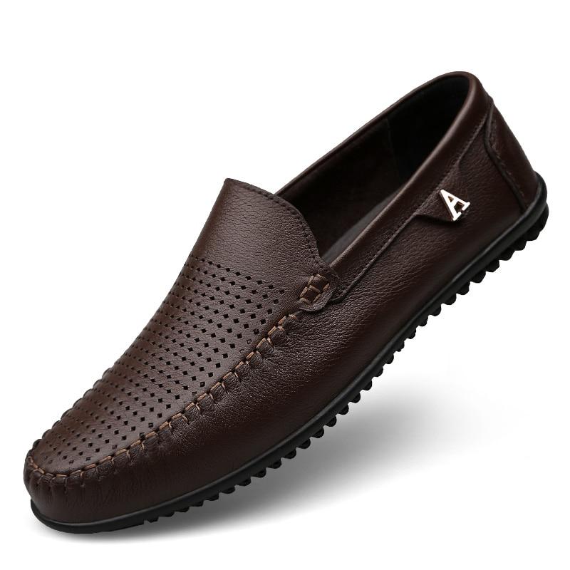Clax άνδρες φόρεμα παπούτσια μαύρο Loafers - Ανδρικά υποδήματα - Φωτογραφία 3