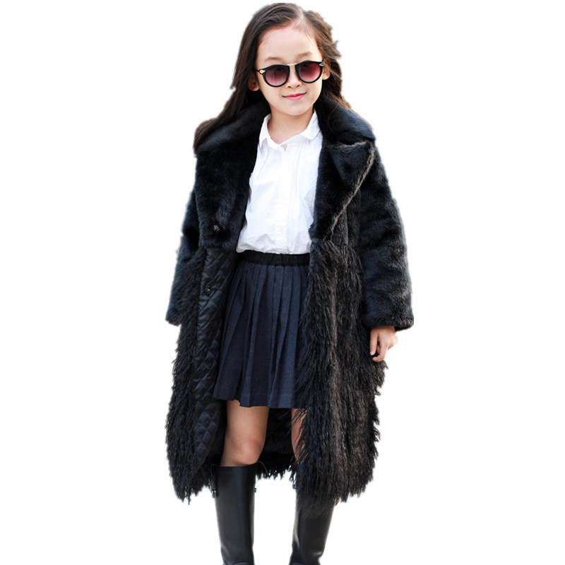 Online Get Cheap Girls White Faux Fur Coat -Aliexpress.com ...