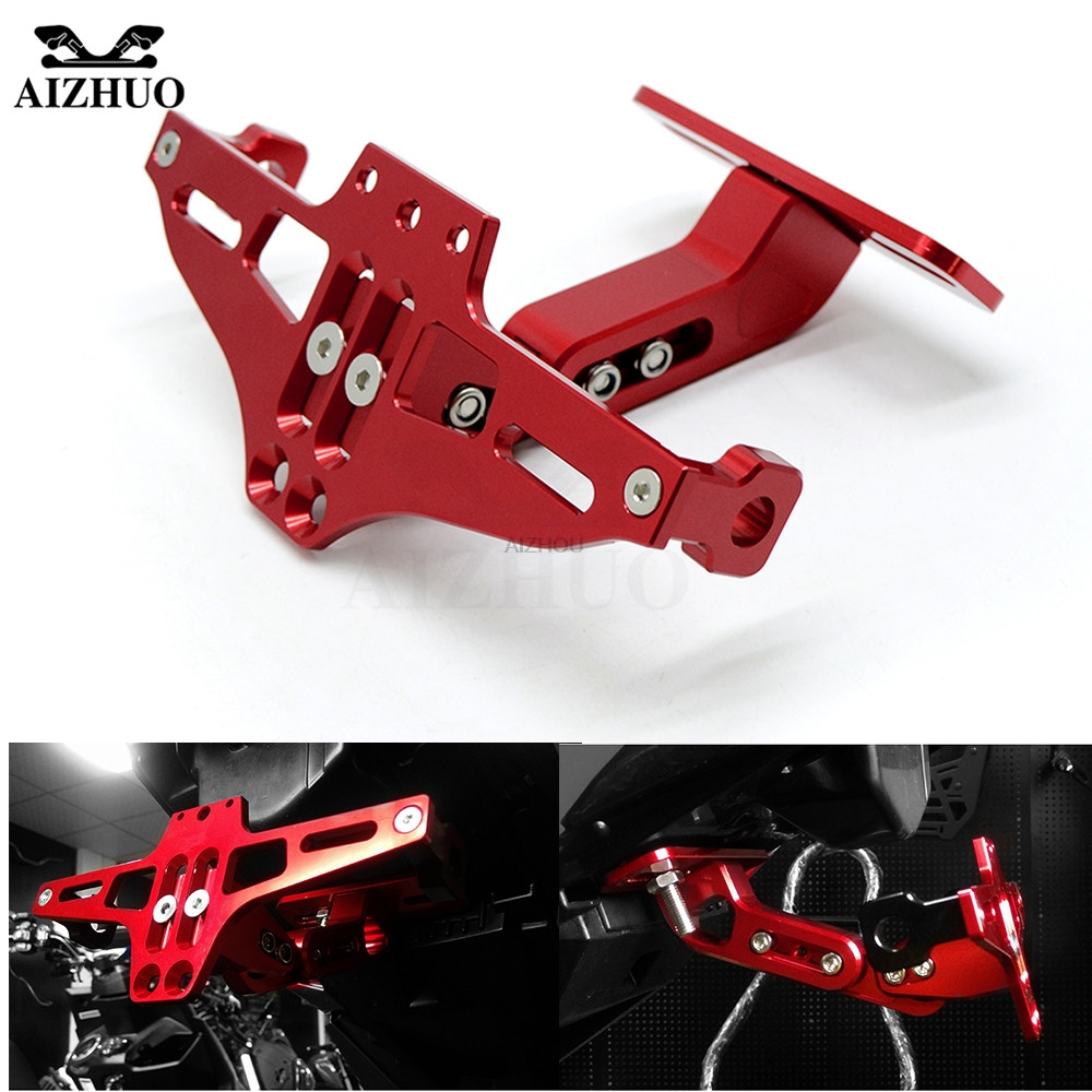 Motorcycle Fender Eliminator Number Plate Frame Holder With Light New Honda Cbr 250rr For Cbr250r 250 R 250r Cbr300r 300 In License From