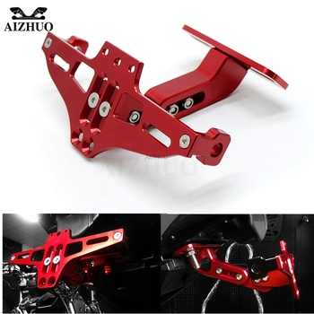 Motorcycle Fender Eliminator Number Plate Frame Holder with Light for Honda CBR250R CBR 250 R CBR 250R CBR300R CBR 300 R 300-R Honda CBR250R
