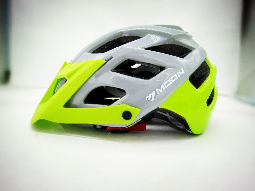 2018 MOON New Bicycle Helmet MTB Cycling Bike Sports Safety Helmet OFF-ROAD Super Mountain Bike Cycling Helmet HB3-7 nuckily pb02 fixed gear bike bicycle cycling safety helmet matte red