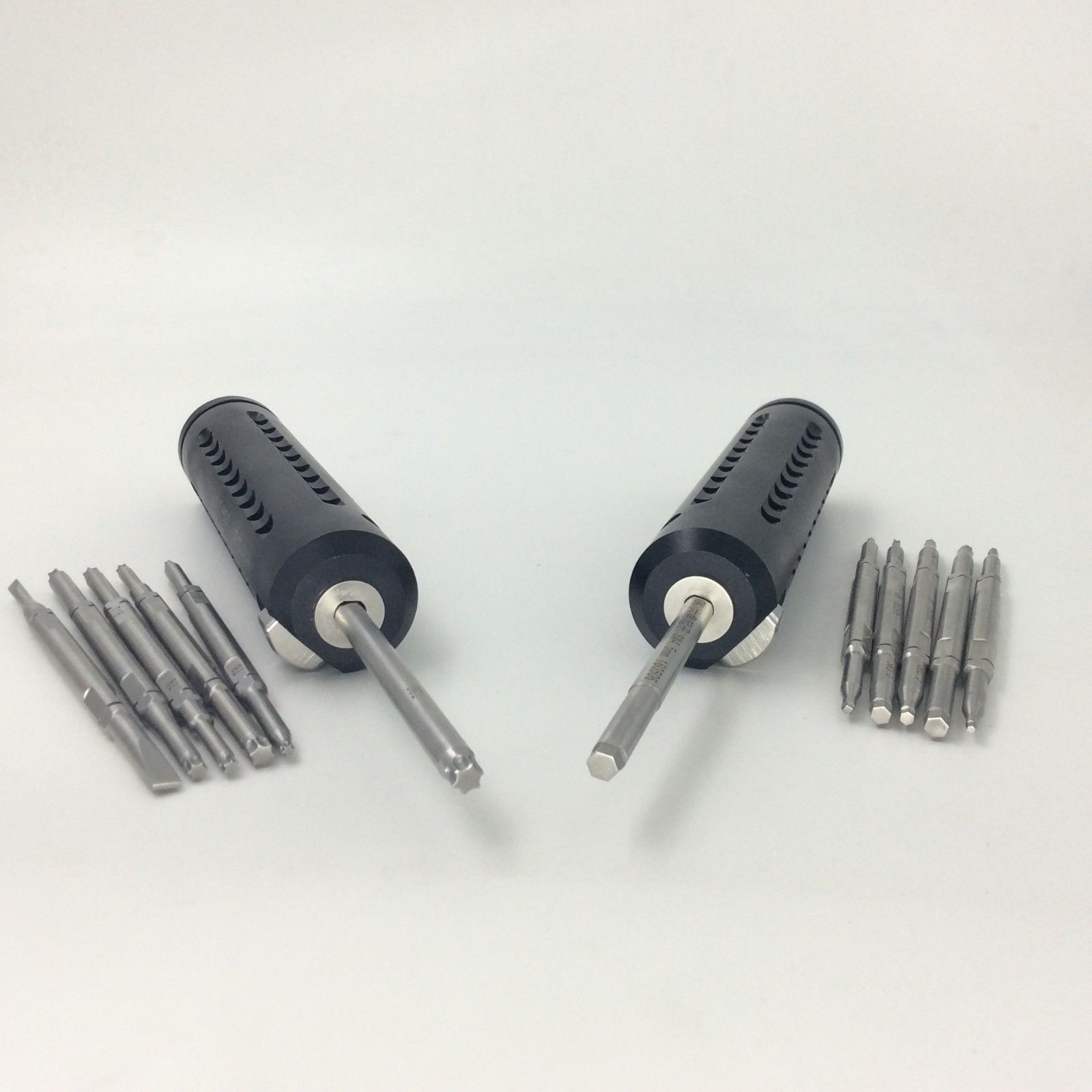 2 Bone Screwdriver Sets Quick Coupling Handle Veterinary Orthopedic Instrument