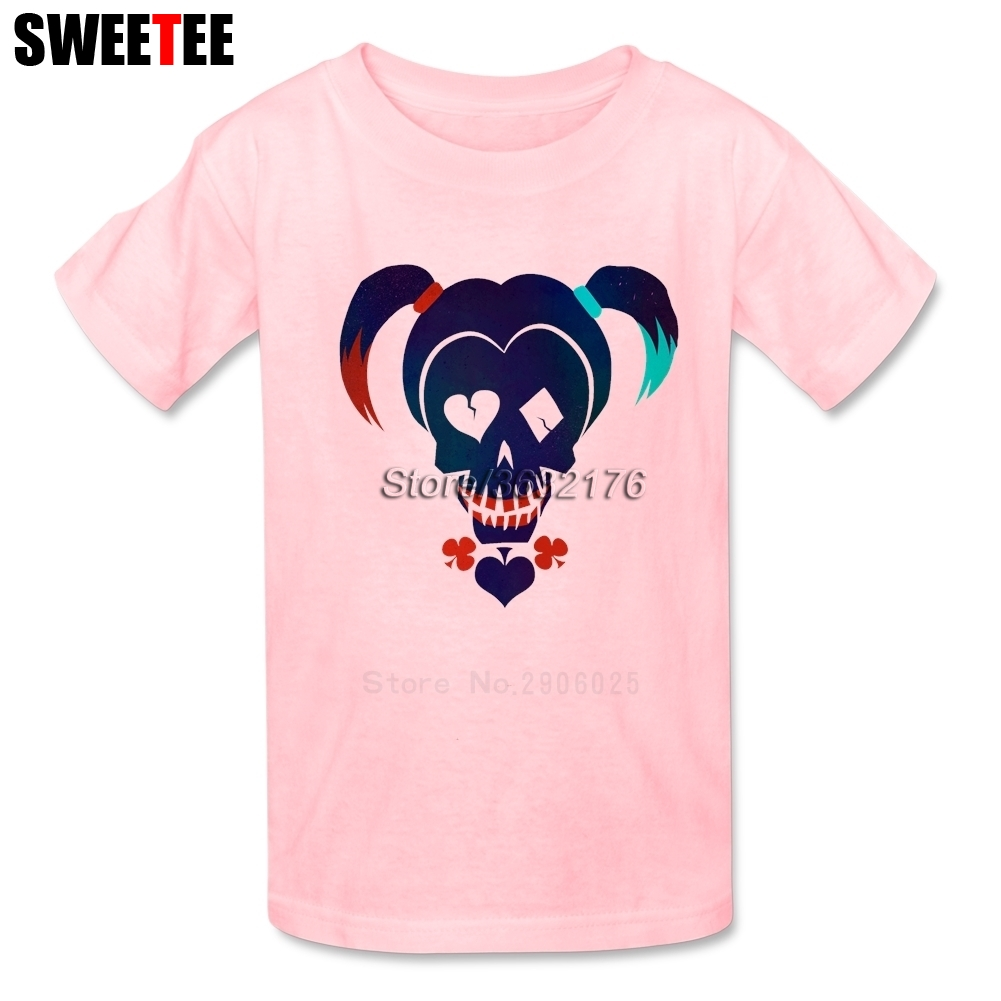 Suicide Squad childrens T Shirt Infant Cotton O Neck Kid Tshirt 2018 Harley Quinn Toddler Clothing Boy Girl T-shirt For Baby