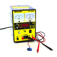 цены Mechanic HK-1502D 15V 2A Double pointer Adjustable Digital DC Power Supply Switching Power Supply Laboratory Test Power Supply