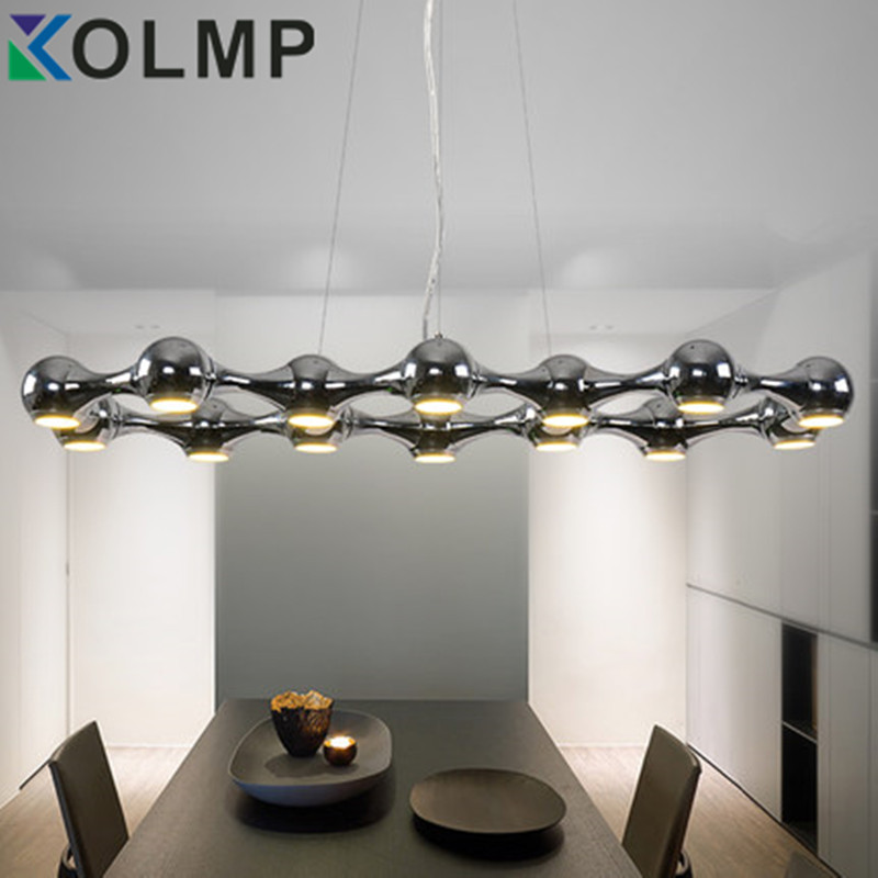 DNA molecules Iron Beanstalk LED lamp creative plating metal pendant light living/dinning room hanging lamp chrome/gold color dna structures part a synthesis and physical analysis of dna 211