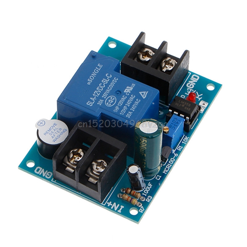 все цены на 12V Battery Against Excessive Discharge Controller Low Undervoltage Protection #H028# онлайн