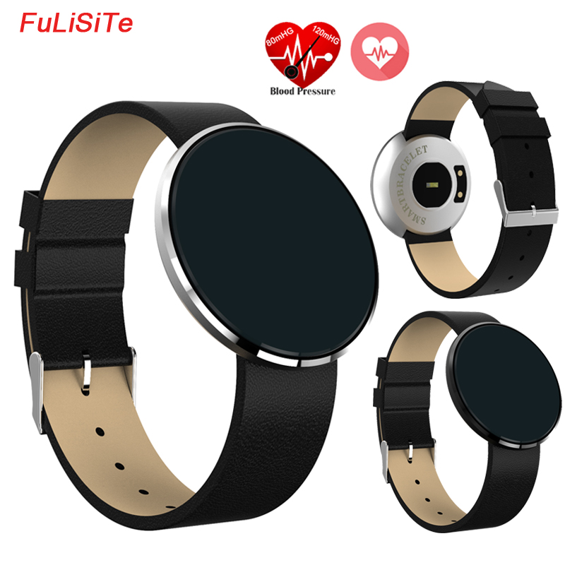 Wrist Watch Blood Pressure LCD Fitness Band SMS Alarm Clock Smart Band Heart Rate Weather Facebook
