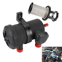 TAIHONGYU Universal Pro 200 Oil Catch Can Stainless Filter fit for Ford Patrol ZD30 D40 Turbo 4WD 3931030955