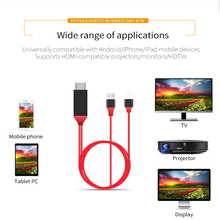 New 1080P M to HL Micro USB HDMI Cable Adapter Converter for Samsung S6/S7/S8 Plus iPhone