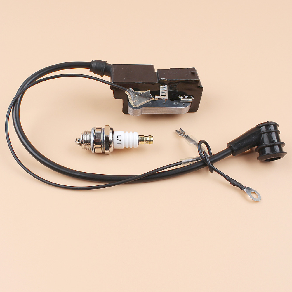 IGNITION COIL /SPARK PLUG L7T FOR JONSERED 2140 2145 2149 2150 2152 2063 2065 2165 2071 2171 2186 CHAINSAWS