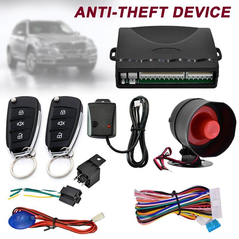 Car Alarm Car Remote Control System Kit Anti-theft For Central Door Lock Locking XR657