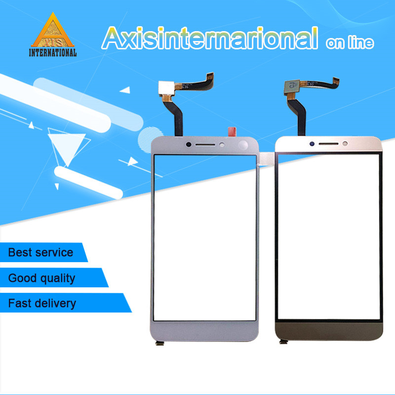 Original Axisinternational For Letv LeEco Coolpad cool1 cool 1 c106 touch panel digitizer white/Gold free shipping