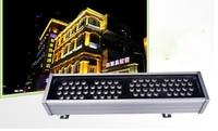 72 Вт 1 м светодио дный прожекторы Пейзаж света AC 24 В AC 85 В 265 В наружное освещение стены линейного лампы прожектор 100 см Wallwasher