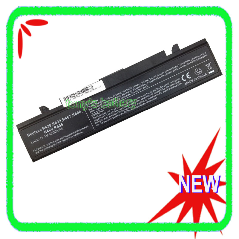 5200mAh <font><b>Battery</b></font> for <font><b>Samsung</b></font> RC410 <font><b>RC510</b></font> RC520 RC710 RC730 RF411 RF511 RF711 RF712 RV409 RV509 AA-PB9NS6B image