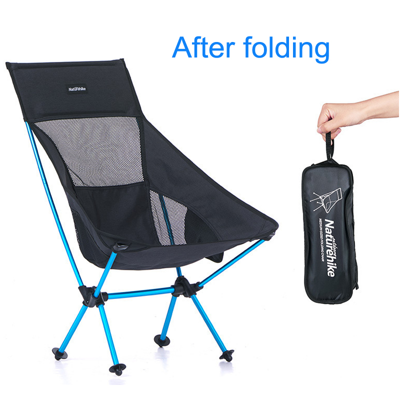 folding beach chair ultralight folding camp chair Moon Chair Breathable mesh fishing chair 600D Oxford cloth Aluminum alloy camouflage outdoor comfortable folding fishing chair breathable moon chair leisure chair butterfly chair