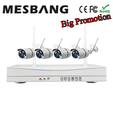 Cheap 960P  Waterproof Outdoor Home Wifi Security Camera System IP Camera kit Wireless cctv camera system wifi build in 1TB HDD