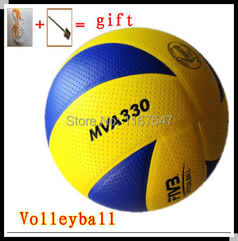 1281b6e99df Free Shipping Top Quality Brand PU Size MVA330 Official Volleyball 8 Panels  Training and Match Ball