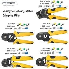 Обжимные клещи VSC8 6 4A VSC9 10 6A VSC10 16 4A 0,08 10 мм2 AWG 23 7, Обжимные Щипцы, обжимные клещи для трубки, обжимные клеммы, ручной инструмент