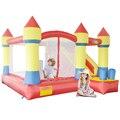 Yard inflável trampolim crianças brincar ao ar livre castelo insuflável com slide obstáculo combo oferta especial para a zona quente
