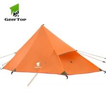 купить GeerTop 1 Person 3 Season Ultralight Backpacking Tent Outdoor Camping Hiking Road Trip Equipment Portable Compact Trekking Tent по цене 5553.08 рублей