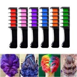 1 Pcs Mini Einweg Persönliche Salon Verwenden Temporäre Haar Dye Kamm Professionelle Buntstifte für Haar Farbe Kreide Haar Färben Werkzeug
