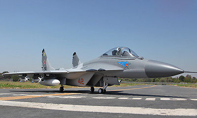 Huge Scale Skyflight LX Twin Metal 70 EDF MIG29 ARF PNP/ARF RC Airplane W/Motor Servos ESC Vector Nozzles W/O Battery