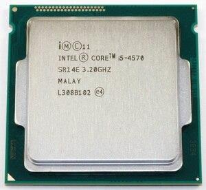 Image 2 - Intel Core i5 4570 3,2 ГГц 6 Мб разъем LGA 1150 четырехъядерный процессор SR14E