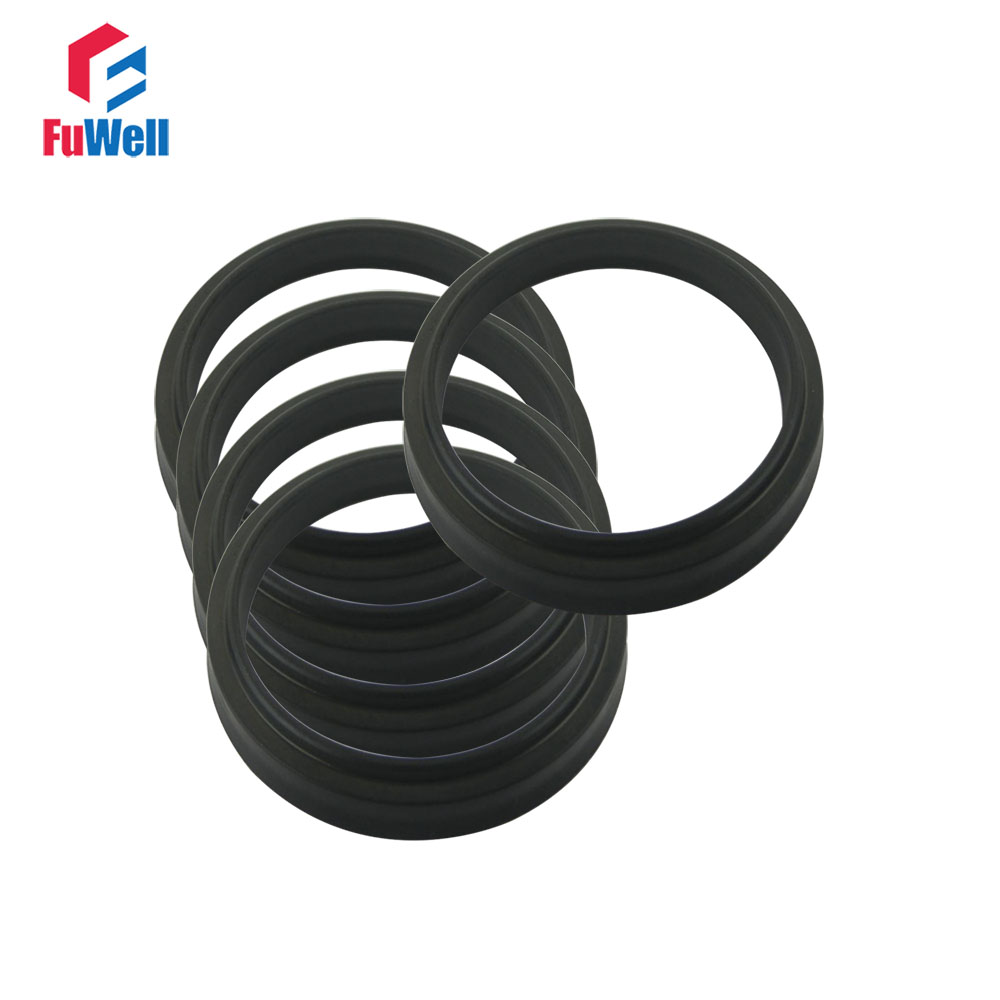 31.5x39.5x6.5mm NBR LBH Type Hydraulic Pump Oil Seal Oil Dust-Proof Hydraulic Cylinder Seal for Oil Cylinder 65x73x6.5mm hydraulic piston seal ring uph 205x235x18mm black nbr hydraulic pump oil seal 300x332x24mm dust proof cylinder oil seal