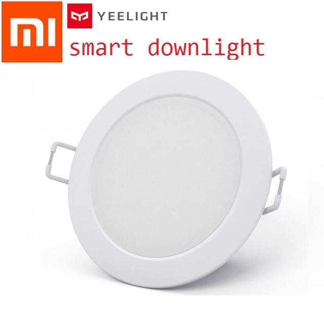 Original Xiaomi Smart Downlight Philips Zhirui Light 220V 3000 - 5700k Adjustable Color Ceiling Lamp App Smart Remote Control xiaomi smart remote control transmitter for philips smart led ceiling light%2