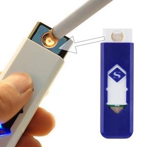 Image 1 - Miễn phí Vận Chuyển USB Nhẹ Hơn Sạc Điện Tử Nhẹ Hơn Siêu Người Đàn Ông Thuốc Lá Plasma Nhẹ Hơn